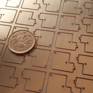 MICRO Waterjet - Electronic Components