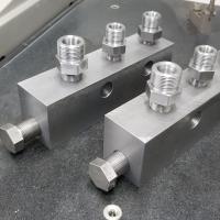 CNC Machining - Injector Manifold Blocks