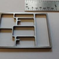 MICRO Waterjet - ring frame  (electronics)