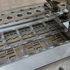 MICRO Waterjet - ring frames (nested)