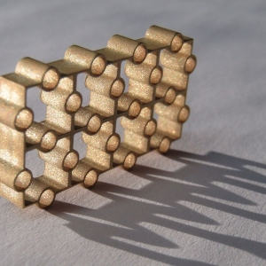 "MICRO Waterjet - Brass-3/8"" thick"